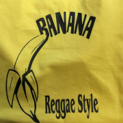 BANANA T-SHIRT YELLOW & BLACK